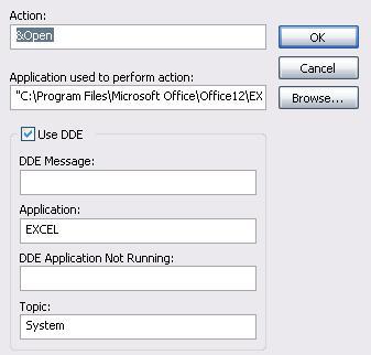 DDE Windows XP